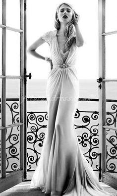 vintage wedding dress....