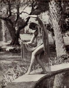 """Margaret Morris Dancing"" book of photographs by Fred Daniel~Image via RBKC Libraries"