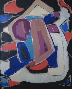 Ohne Titel, 100 x 80 cm, Acryl auf Leinwand, Martina Kolle