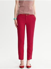 Martin Fit Crepe Ankle Pant from #BananaRepublic