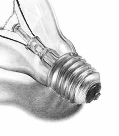 light bulb drawings