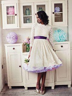 Style-Me-Vintage-Weddings-1950s-bride ELLE wedding blog