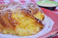 Experimente uma receita Leve e saborosa, o Pão Doce de Beijinho. Receita no link: http://xamegobom.com.br/receita/pao-doce-de-beijinho-2/