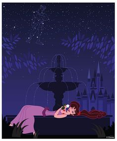 """In the 1997 film """"Hercules,"""" Megara """"won't say she's in love"""" with hopeful hero Hercules, but it sure looks like the romance of Cinderella Castle at Magic Kingdom Park has her dreaming of him now."""