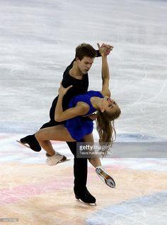 Victoria Sinitsina and Nikita Katsalapov of Russia skates in the ice dance during day two of the Progressive Skate America ISU Grand Prix of Figure Skating on October 24, 2015 in Milwaukee, Wisconsin.
