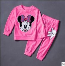 Christmas red Infants baby clothing boys girls tracksuits cartoon shirt+ pants 2pcs kids boy clothes Children clothing set(China (Mainland))