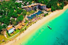 """""""Naturally Romantic...Beyond Resort Krabi""""  Secluded white beaches, pockets of life, untouched nature; Beyond Resort Krabi is all of this and much more.  #http://thebeachfrontclub.com/beach-hotel/asia/thailand/krabi/klong-muang-beach/beyond-resort-krabi/"""