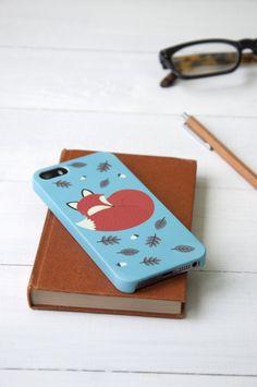Iphone 5/5s Case Rusty The Fox | DotComGiftShop