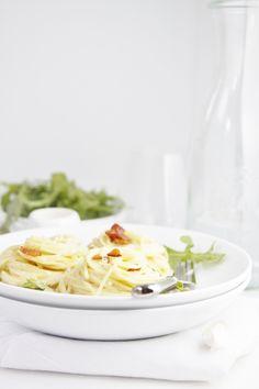 Drunken Pasta with Pancetta
