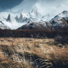"coiour-my-world: ""hannes_becker ~ Mount Fitz Roy, El Chalten, Argentina "" Landscape Photography, Nature Photography, Travel Photography, Landscape Photos, Wanderlust, Beautiful World, Beautiful Places, Image Nature, Quelques Photos"