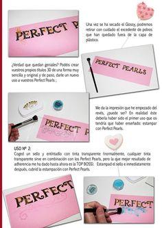Sácales el máximo partido a los Perfect Pearls: http://cinderellatmidnight.com/2014/02/18/sacale-el-maximo-partido-a-tus-perfect-pearls-tutorial-para-la-revista-digital-crea-disena/