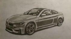 BMW M4 drawing.