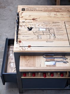 The Ultimate Chef's Work Table, from a Culinary Star : Remodelista##