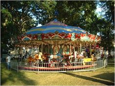 This carousel reminds me of Twin Lakes Park, Paris, IL. Had my carousel rides there in my early childhood..sweet memories!!