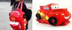 New Disney Cars McQueen plush cartoon school bag children backpack gift bag **************************************** תיק של הסרט מכוניות (פיקסאר), בצורה עגלגלה.  התיק בצבע אדום ומותאים במיוחד עבור ילדיכם.   מחיר: כ 38 שקל כולל משלוח חינם! מידות: 30X23X16 מוצר פופולארי: נמכרו מעל 165 יחידות!
