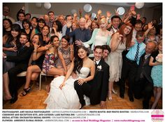 From Real Wedding Magazine! My son Kevin and my beautiful new daughter Lia had a wonderful wedding.  Thanks for posting this, Cheri, from Cathy, the Bride's mother!