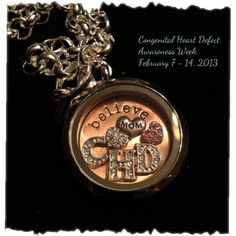 February 7th-14th is Congenital Heart Defect awareness week. Visit my website @ www.charmedlocketsbyvicki.origamiowl.com