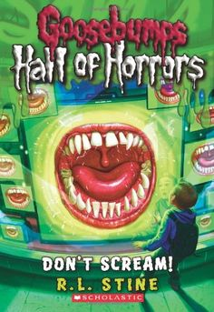 Goosebumps Hall of Horrors #5: Don't Scream! by R.L. Stine http://www.amazon.com/dp/0545289378/ref=cm_sw_r_pi_dp_AnqMvb16921MC