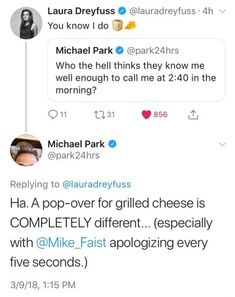 How love how this implies that Laura Dreyfuss called him asking for grilled cheese at 2 am and dragged Mike with her Theatre Nerds, Musical Theatre, Laura Dreyfuss, Dear Even Hansen, Connor Murphy, Ben Platt, Be More Chill, Out Of Touch, First Love