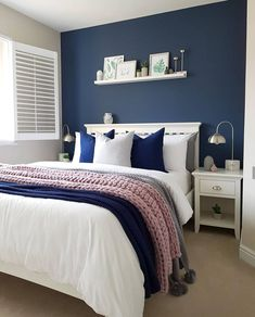 and Modern Small Bedroom Design Ideas Part bedroom ideas; bedroom ideas for small room; bedroom decorations decor ideas for women Couple Bedroom, Small Room Bedroom, Home Decor Bedroom, Modern Bedroom, Master Bedroom, Bedroom Decor For Couples, Budget Bedroom, Small Bedrooms, Bed Room