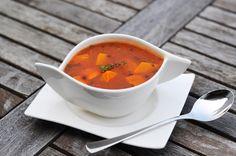 von veganen Küchengelüsten und anderen Dingen...: Oranger Gemüse Linseneintopf Orange, Thai Red Curry, Lunch, Dinner, Ethnic Recipes, Food, Rest, Carrots, Vegans