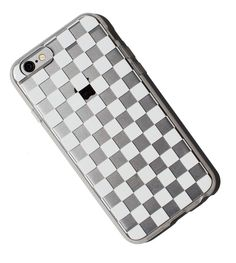 Clear Checkers iPhone 6 Case