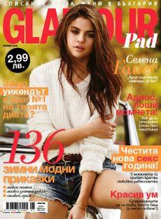 Glamour Magazine [Bulgaria] (January 2014) Selena Gomez