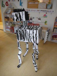 * Groepswerk zebra!
