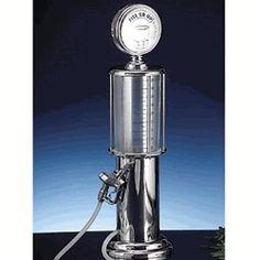 Godinger 1958 Gas Pump Liquor Dispenser - Wine Preservation