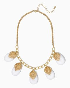 charming charlie | Baroque Pears Necklace | UPC: 410006944336 #charmingcharlie