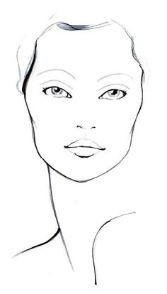 Facechart for Sephora by Amelie Hegardt