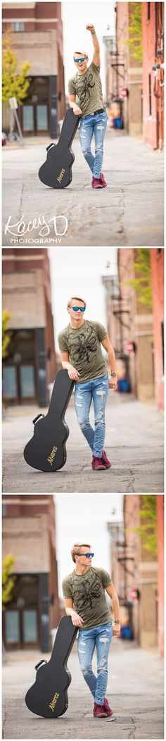 Fun Ideas and Poses for Seniors who play Guitar and Musicians - Photographer Columbia MO Kacey D Photography Columbia Missouri, Senior Pictures Boys, Senior Photography, Playing Guitar, Cross Country, Senior Portraits, Fun Ideas, Musicians, Singer