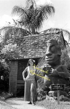 Indian Rocks Beach FL Tiki Gardens God Kula 1976 | eBay