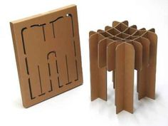 Davidgraas: Furniture from Cardboard
