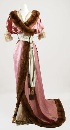 Dress Design House: Callot Soeurs (French, active 1895–1937) Date: fall/winter 1910–11 Culture: FrenchDress