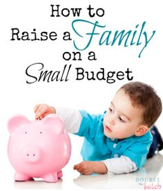 How to raise a family on a small budget...and still be amazingly happy too!