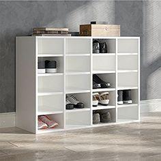 VICCO Schuhregal LYSANDER - für bis zu 20 Paar Schuhe Schuhschrank Schrank Schuhständer Schuhe Schuhablage Standregal Weiß XL: Amazon.de: Küche & Haushalt