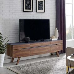 online shopping for Modway Scope 71 TV Stand, Walnut Gray from top store. See new offer for Modway Scope 71 TV Stand, Walnut Gray Tv Cabinet Design, Tv Wall Design, Tv Stand Cabinet, Tv Stand Furniture, Modern Furniture, Classic Furniture, Furniture Outlet, Discount Furniture, Kitchen Furniture