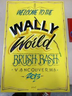 Brush Bash Sign
