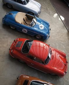 Cool old Porsches
