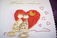 Quilled Valentine's Day Craft Projects and Ideas | PicturesCrafts.com