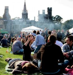 Great British Cheese Festival. First held in Stow on the Wold in 2000, the Festival has made Cardiff Castle its permanent home since 2008.