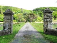 Enter through the gates and you have arrived in Farchynys Hall - your self catering accommodation in Snowdonia National Park! Snowdonia National Park, Gates, Catering, National Parks, Sidewalk, Building, Pictures, Construction, Photos