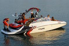 Seadoo Wake boat