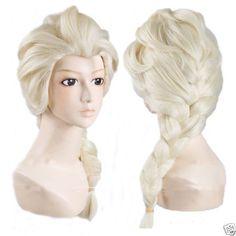 Frozen-Elsa-Snow-Queen-Blonde-Wig-Adult-Size-Fancy-Dress-Costume-Princess