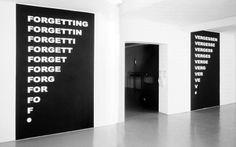 »forgetting/vergessen« by stanisław dróżdż (+)