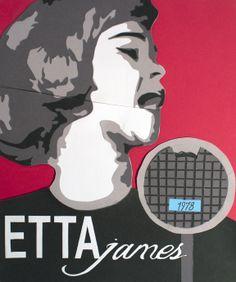 Etta James by Natasha Watzka