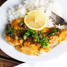 Chicken Piccata - A Delicious Italian Dish that can be made in Less Than 30 Minutes! Lemon, Capers, White Wine and Butter - foodgawker.com
