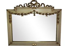 French Garland Mirror--I would also use this in a Swedish bedroom