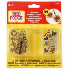 Mod Podge Podgeable 23360 Designer Charms by Plaid, http://www.amazon.com/dp/B00DQD8VAY/ref=cm_sw_r_pi_dp_5Ufdsb03SJ154